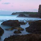Rocks of Kiama by Jim  Paredes
