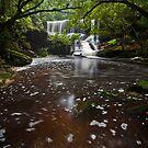 Somersby Falls 20/12/2011 by John Morton
