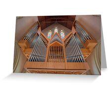 Cathedral of St Stephen Pipe Organ • Brisbane • Queensland Greeting Card