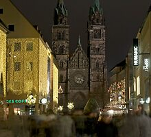 Nuremberg, Germany, at Christmas-time.  by David A. L. Davies