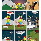 "Rick the chick  ""THE MAGIC SHELL (Il primo volo) parte 15"" by CLAUDIO COSTA"