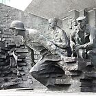 Warsaw Memorial  2, Poland by Sue Ballyn