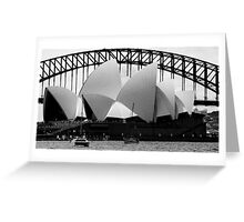 2 Icons Greeting Card