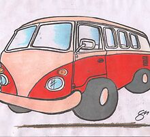 Splitty by Sharon Poulton