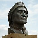 Bust of Dante Alighieri by catiapancani