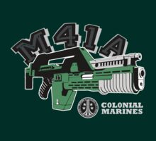 M41A Pulse Rifle T-Shirt by theycutthepower