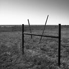 A Funny Fence At The View Of Forever by Jeffery W. Turner