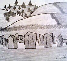 Irish Stone Circle by Risteárd Ó' hAllmhuráin