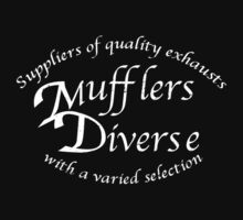 Mufflers Diverse by MrDeath
