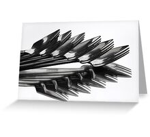 ^^^ Fork Off ^^^ Greeting Card