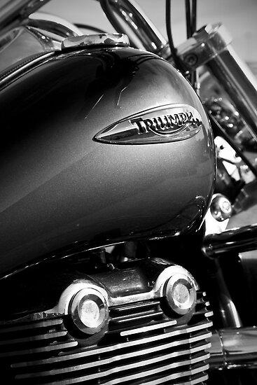 Triumph Thunderbird by Ian Merton