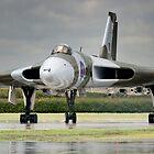 Avro Vulcan XH558 by Ian Merton