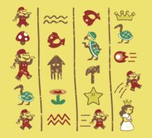 The Legend of Mario Kids Clothes
