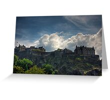 The Castle on the Rock Greeting Card