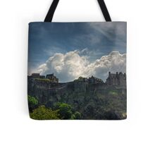 The Castle on the Rock Tote Bag