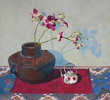 Miniature Teapot Still-life by Jan Lawnikanis