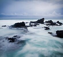 Dawn at Ho'okipa - Maui, Hawaii  by Zach Pezzillo