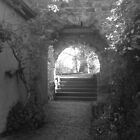 Kiss me under the archway by Andrew Bourke