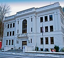 The Shoshone County (Idaho) Court House, USA by Bryan D. Spellman
