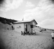 Lifeguard Station, Sea Palling, Norfolk by GaryDanton