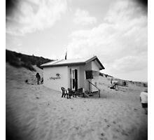 Lifeguard Station, Sea Palling, Norfolk Photographic Print