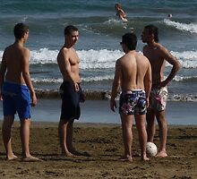 Lads and Balls Equals Mates by jonvin