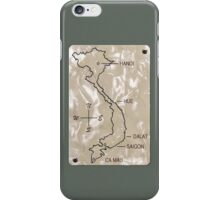 Vietnam Pearl Map iPhone Case/Skin