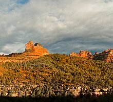 Southwest Red Rock panorama by Jeff Hathaway