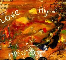 The Golden Rule has to do with LOVE by © Angela L Walker