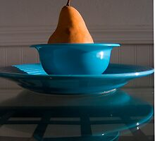 Pear in Blue by Jing3011
