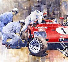 Alfa Romeo 33TT3 Targa Floria 1972 Vaccarella Stommelen by Yuriy Shevchuk