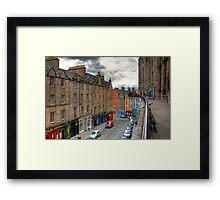 The Terrace Framed Print