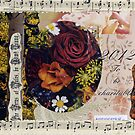 To be charitable collage 2012 by Sandra Foster