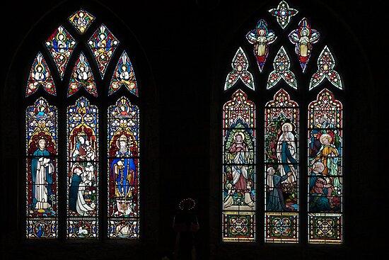 Stained glass windows by PhotosByHealy