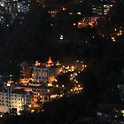 Shimla at Night, Himalayas, India by 3rdeyelens