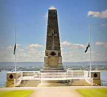 State War Memorial by Darren Speedie