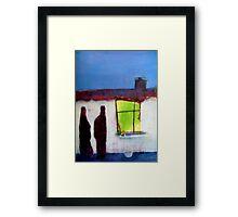 conversation Framed Print