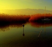 Ohrid lake by Kristina R.