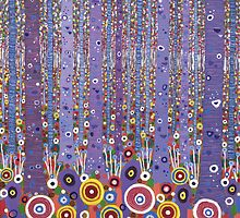 Purple Forest by wavynewt