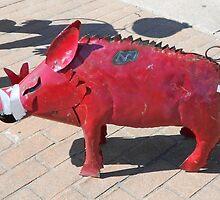 Whoooie Pig Soooiee by WildestArt