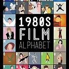 1980's Film Alphabet by Stephen Wildish