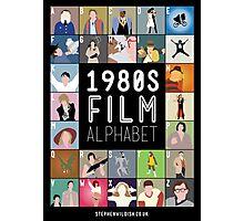 1980's Film Alphabet Photographic Print
