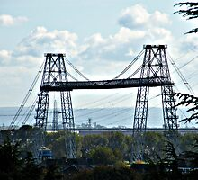 Newport Transporter bridge by Joyce Knorz