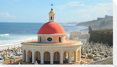 Old San Juan, Puerto Rico Dome by Lee Walters Photography