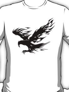 Flaming Tribal Eagle T-Shirt