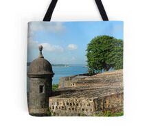 Old San Juan Gun Turret Tote Bag