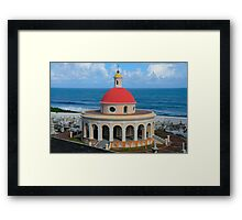 Old San Juan Dome Framed Print