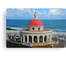 Old San Juan Dome Metal Print