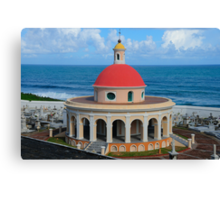 Old San Juan Dome Canvas Print