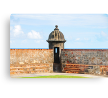 Old San Juan Gun Tower Metal Print